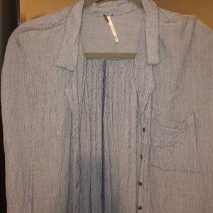 Free People Tops - Free People button down